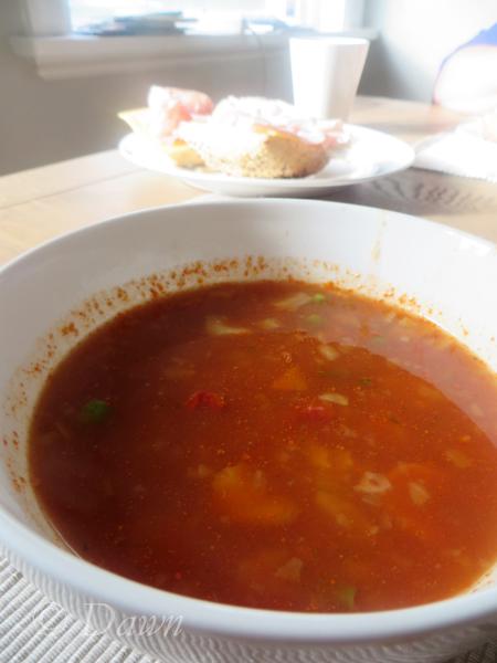 Tasty soup!