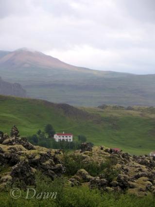 Beautiful views from the Grabrokargigar Mountain area.