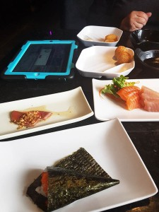 Assortment of dishes from The One sushi on Macleod Trail in Calgary (AYCE)